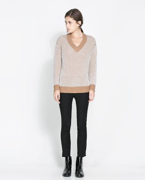 Class it up with this oversized sweater from Zara